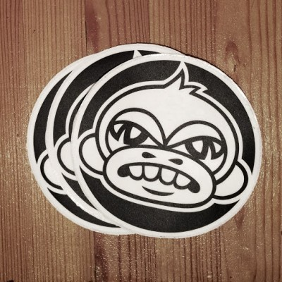 Monkey-Stickers