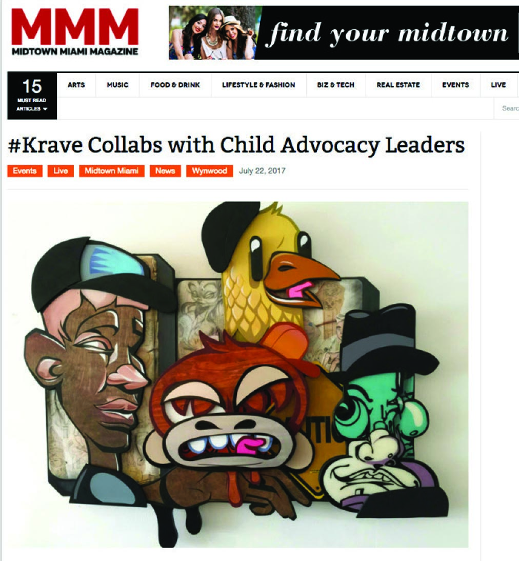 Krave collaborates with The Childrens Trust
