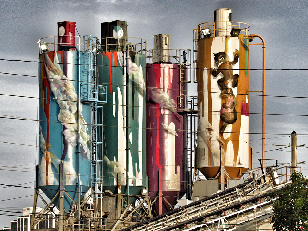 The Wynwood Silos